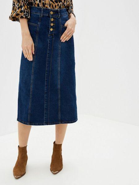 Джинсовая юбка синяя Forza Viva