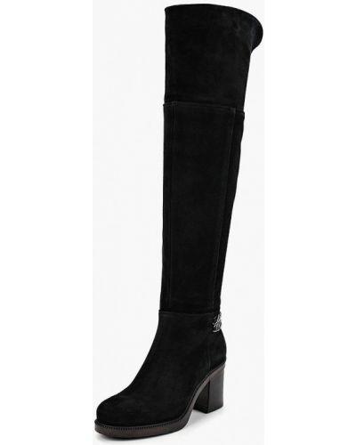 Ботфорты на каблуке черные Dolce Vita
