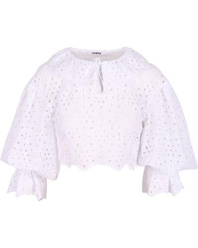 Biała bluzka Vivetta