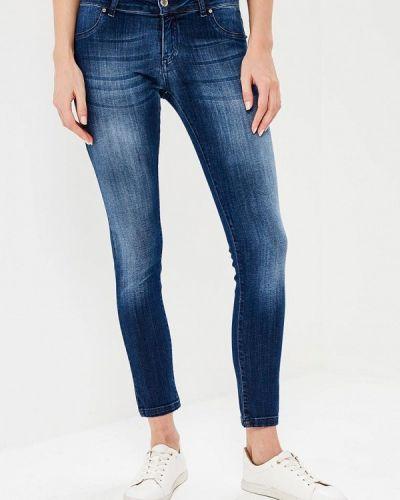 Синие джинсы-скинни Phard