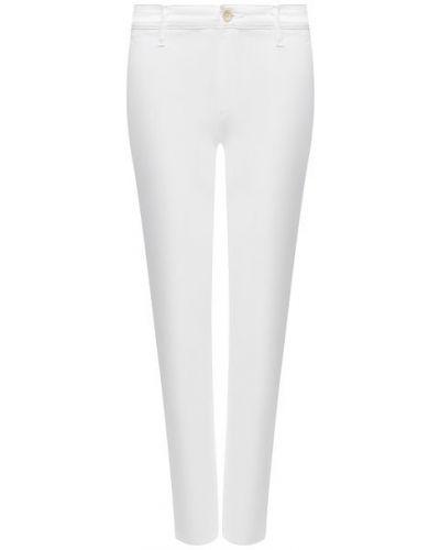 Хлопковые белые джинсы Ag
