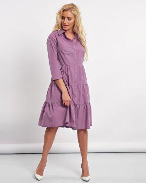 Летнее платье с завышенной талией платье-рубашка Jetty