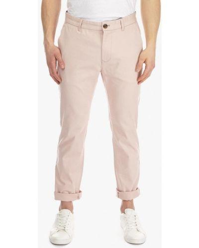 Розовые брюки повседневные Burton Menswear London