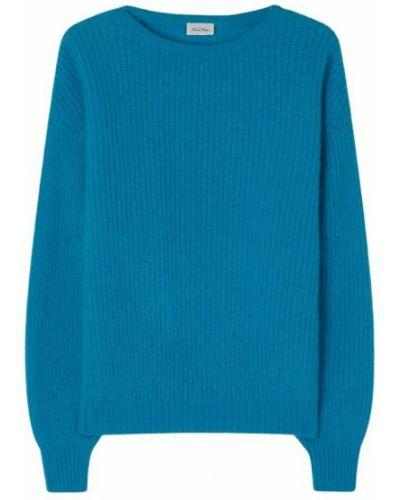 Sweter vintage - niebieski American Vintage