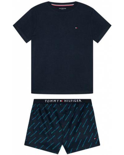 Piżama granatowa Tommy Hilfiger