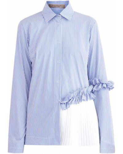 Блузка приталенная хлопковая D.exterior