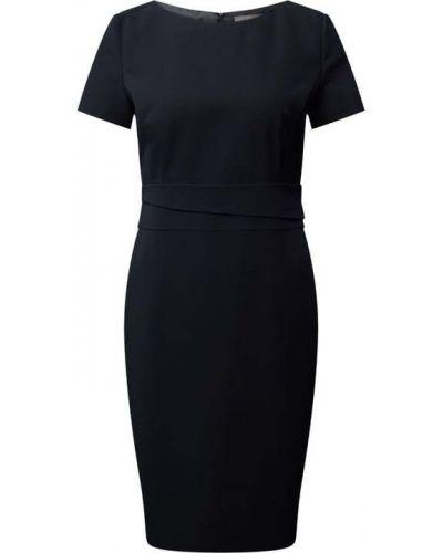 Niebieska sukienka mini asymetryczna z wiskozy Jake*s Collection