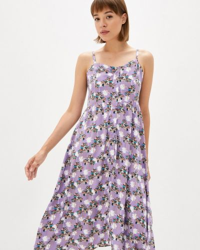 Фиолетовое весеннее платье Gloss