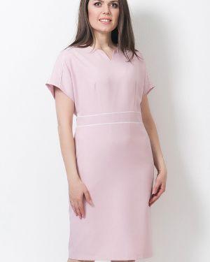 Летнее платье оверсайз с карманами с вырезом с высокой посадкой Modellos