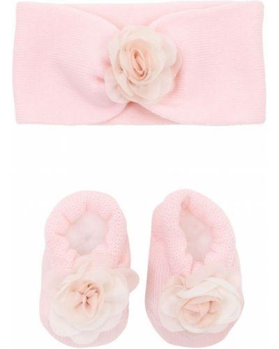 Wełniany różowy skarpetki rozciągać La Perla