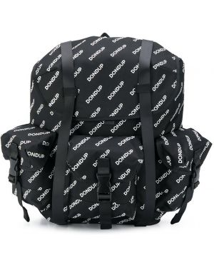 Рюкзак черный с логотипом Dondup Kids