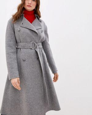 Пальто демисезонное серое Sportmax Code