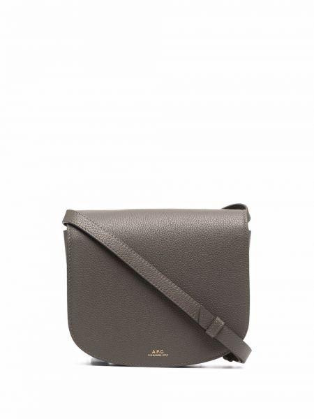 Кожаная сумка - серая A.p.c.