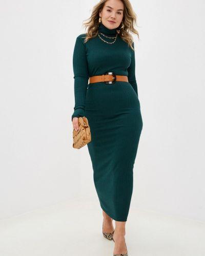 Зеленое платье-свитер Trendyangel