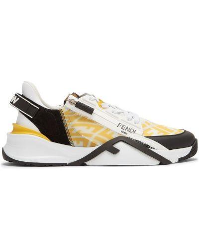 Białe sneakersy Fendi