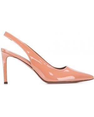 Туфли-лодочки с открытой пяткой на каблуке L'autre Chose