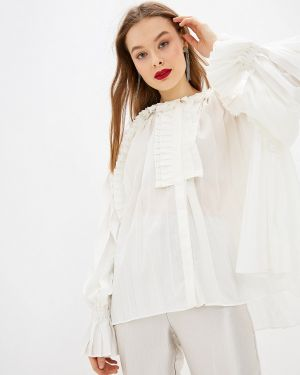 Блузка с рюшами белая Sister Jane