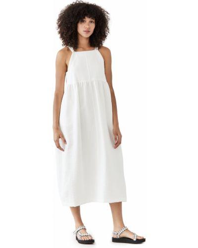 Хлопковое платье - белое Rachel Comey