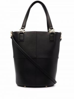 Черная сумка из полиэстера Elisabetta Franchi