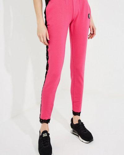 Розовые спортивные брюки Plein Sport