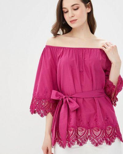 Блузка с коротким рукавом розовая Maria Rybalchenko