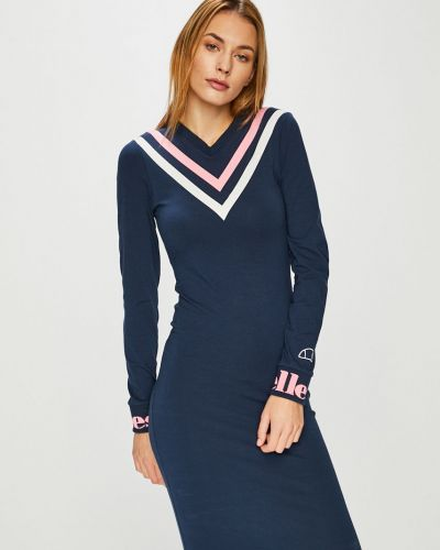 Облегающее платье мини - синее Ellesse