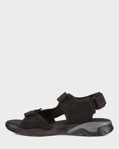 Сандалии на липучках - черные Ecco