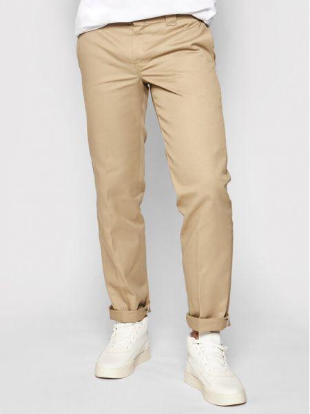 Spodnie robocze - beżowe Dickies