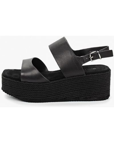 Босоножки на каблуке кожаные Marc O'polo