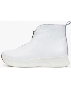Белый кожаный топ Tops