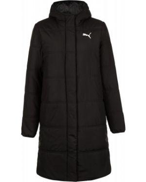 Утепленная куртка спортивная длинная Puma