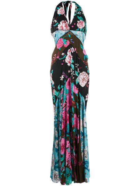 Платье макси с открытой спиной с цветочным принтом Dvf Diane Von Furstenberg