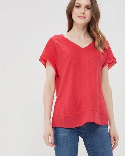 Розовая футболка S.oliver