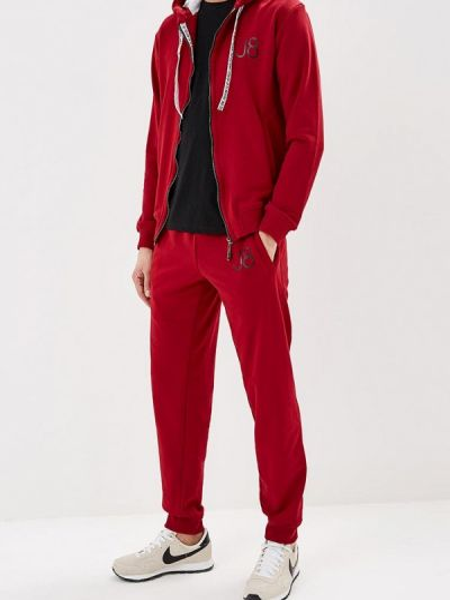 Спортивный костюм красный бордовый Jam8