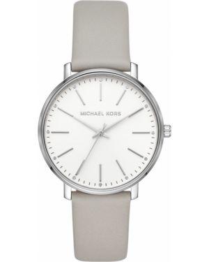 Zegarek szary srebrny Michael Kors
