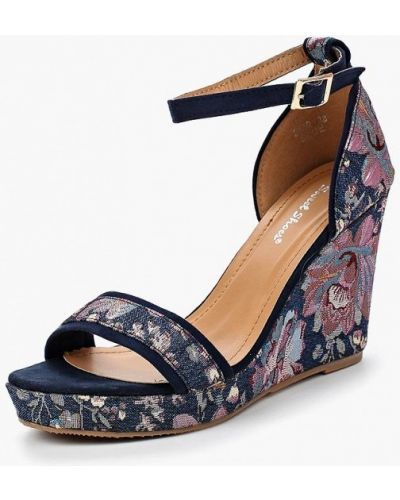 Синие босоножки Sweet Shoes