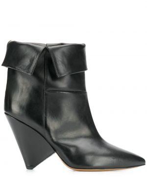 Ботинки на каблуке без каблука с острым носком Isabel Marant