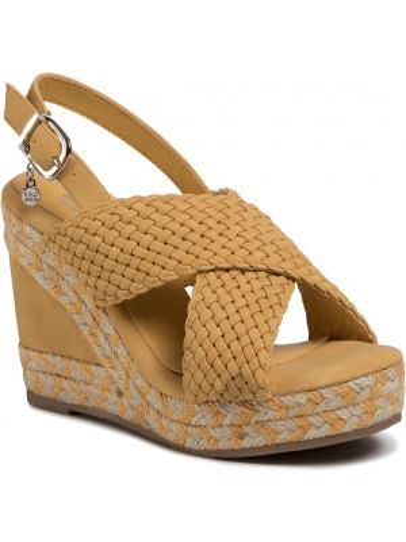 Sandały espadryle - żółte Xti