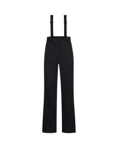 Прямые черные спортивные брюки с поясом VÖlkl
