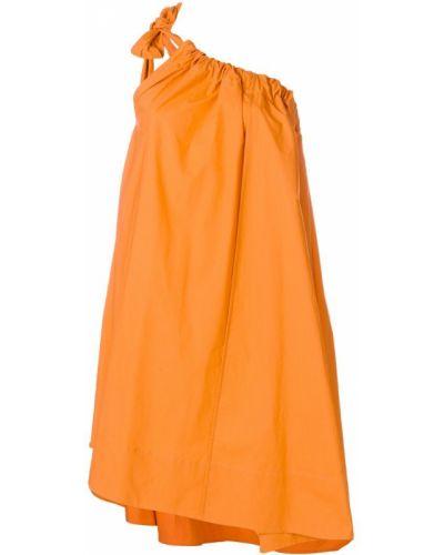 Платье со складками на одно плечо Ter Et Bantine