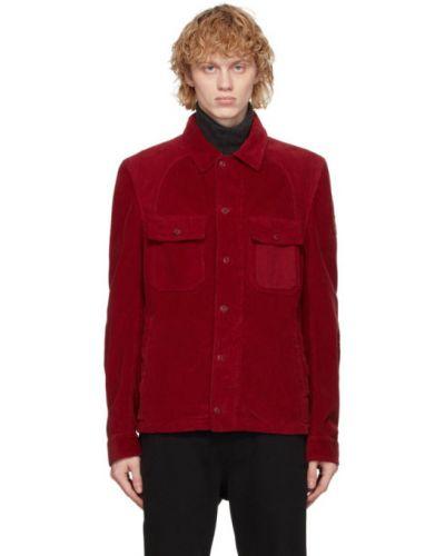 Z rękawami bawełna bawełna długa kurtka z mankietami Belstaff