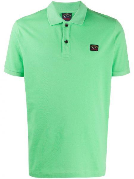 Koszula krótkie z krótkim rękawem klasyczna z logo Paul & Shark