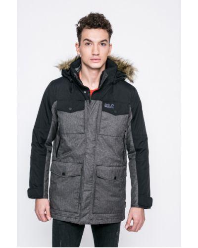 Утепленная куртка с капюшоном Jack Wolfskin