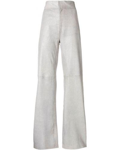 Прямые брюки с воротником с поясом Vanderwilt