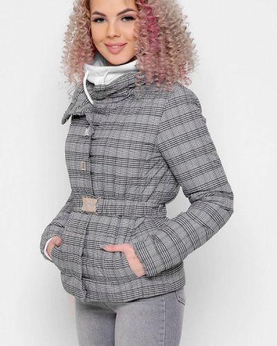 Серая демисезонная куртка Carica&x-woyz