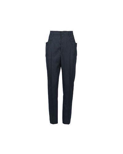 Шерстяные брюки - серые Isabel Marant