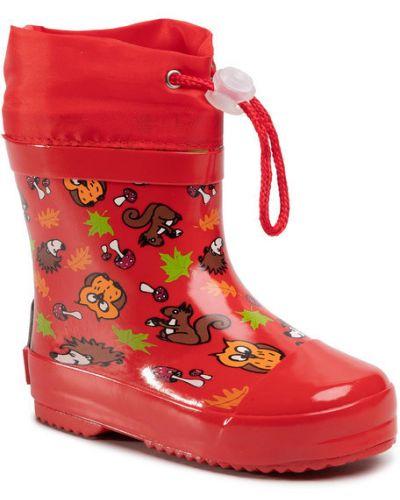 Czerwone kalosze Playshoes