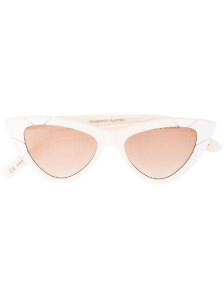 Муслиновые солнцезащитные очки хаки Pared Eyewear