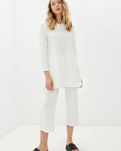 Костюмный белый спортивный костюм Pink Summer