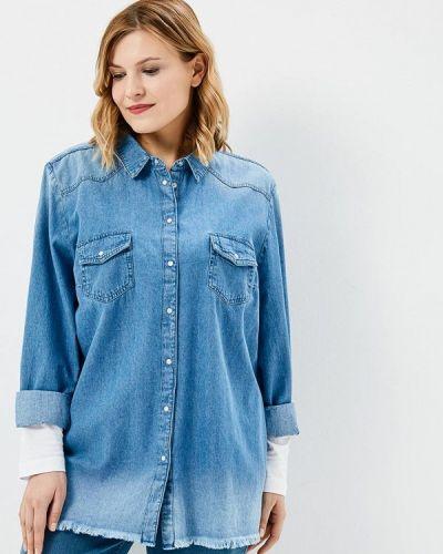 Синяя джинсовая рубашка Studio Untold